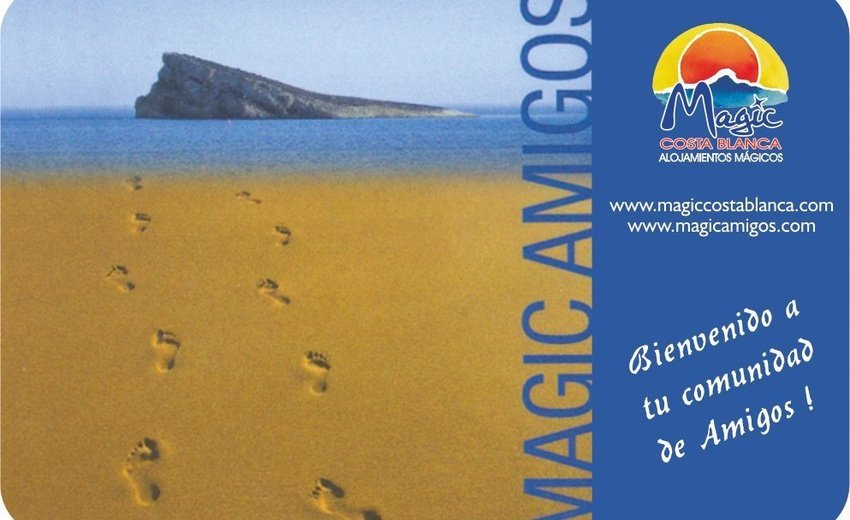 Tarjeta Amigos Magic Aqua™ Tropical Splash Benidorm