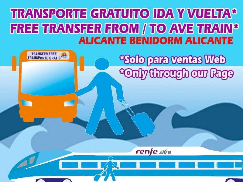¡Transfer GRATIS! Apartotel Magic Tropical Splash Benidorm