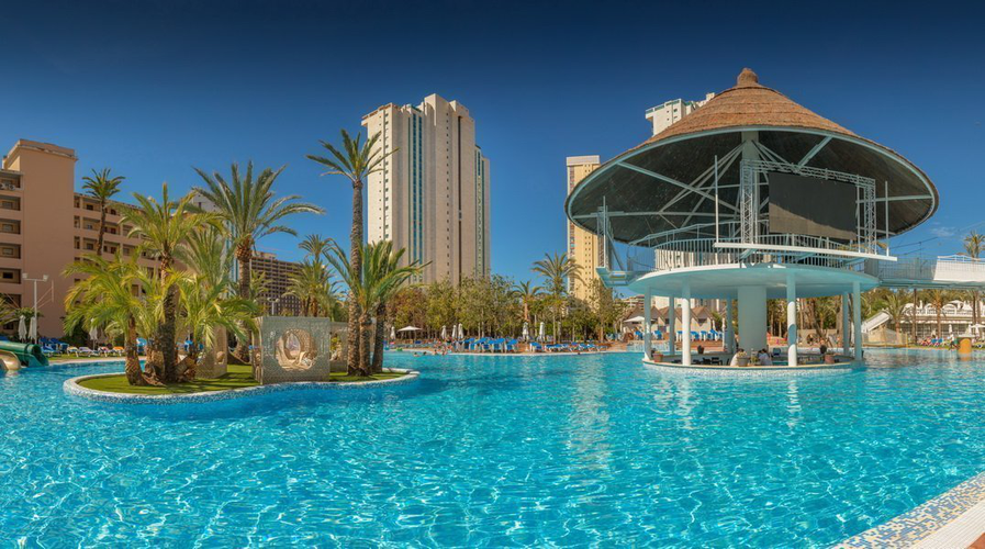 'Cayo Coco' Bar Magic Aqua™ Tropical Splash Benidorm